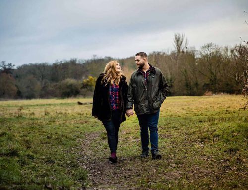 Stephanie & Dominic | Forty Hall Engagement